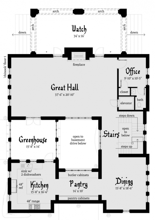 Marvelous Chinook Castle Plan – By In 2018 | Wishes | Pinterest | Castle House Modern Castle Floor Plans Picture