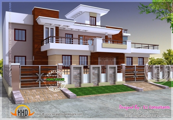 Marvelous Modern Style India House Plan Kerala Home Design And, Indian Modern Indian House Designs And Floor Plans Pic