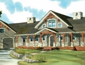 Marvelous One Story House Plans With Porches | Craigkeller House Plans With Porches Picture