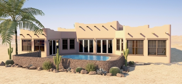 Most Inspiring Adobe House Plans With Courtyard Luxury Southwestern House Plans Adobe House Plans Image