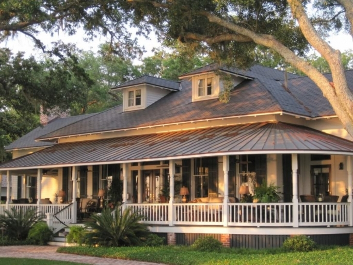 Most Inspiring Country House Plans With Porches One Story | Wanderpolo Decors House Plans With Porch Image