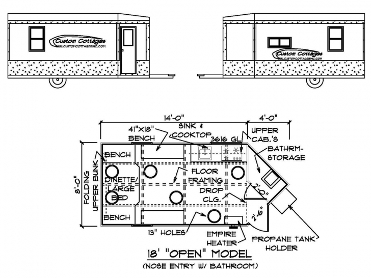 Most Inspiring Custom Cottages Inc. - Mobile Shelter Design For Ice Fishing Ice House Plans Picture
