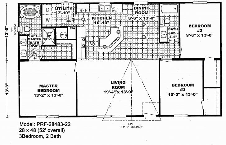 Most Inspiring Double Wide Trailer Floor Plans | Nuithonie Double Wide Trailer Floor Plans Image