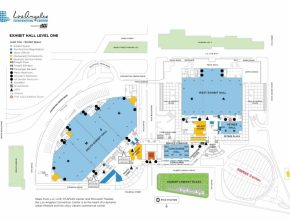 Most Inspiring Floor Plans | Los Angeles Convention Center La Convention Center Floor Plan Picture