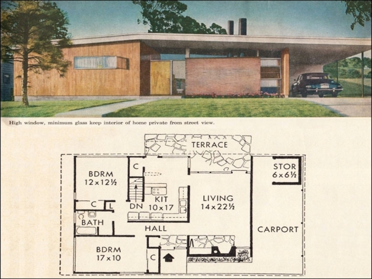 Most Inspiring Old Mid Century Home Plans Baby Nursery Mid Century Houseplans Mid Mid Century Modern House Plans Pic