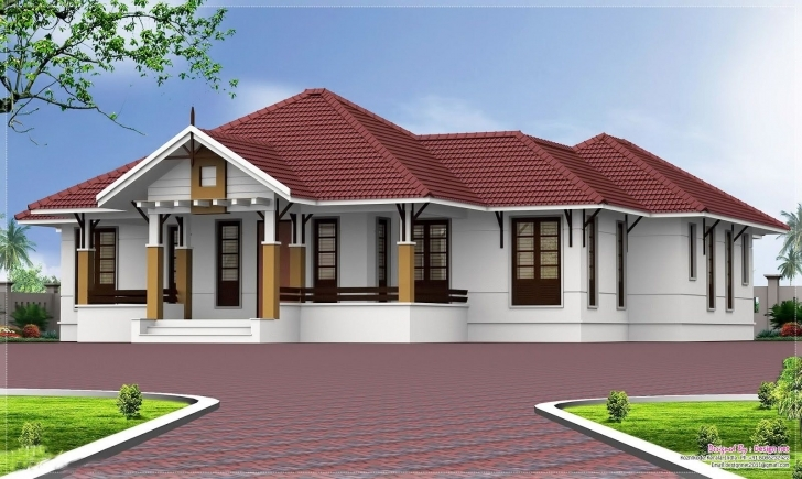 Most Inspiring Single Floor House Designs Kerala House Planner Floor House Plan Sq Single Floor Kerala House Plans Photo