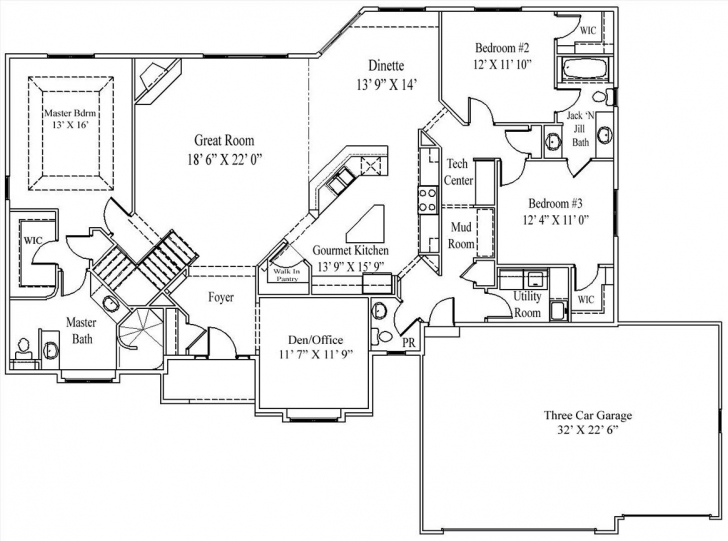 Most Inspiring The Alexis - Floor Plan The Alexis, A Perfectly Designed Split Alexis Floor Plan Pic