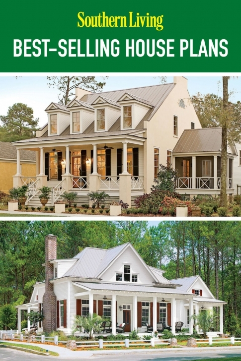 Most Inspiring Top 12 Best-Selling House Plans | Southern Living House Plans Southern Living House Plans Photo