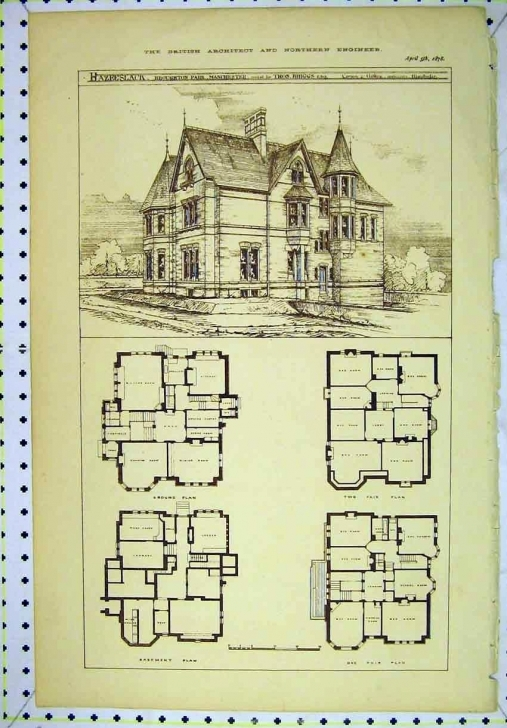 Most Inspiring Vintage Victorian House Plans | Classic Victorian Home Plans | House Victorian House Plans Pic