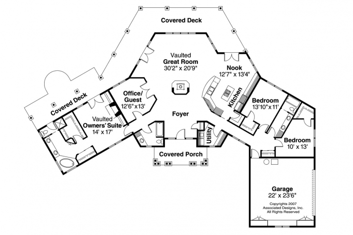 Must See 5 Top Home Plans With A View - Homeplansme - Home Plans House Plans For A View Photo