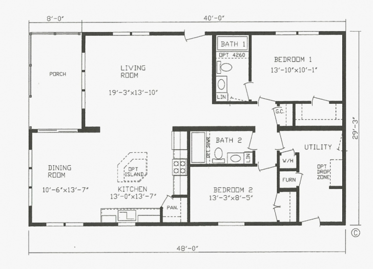 Must See Farmhouse Modular Home Floor Plans Image Modular House Plans Photo