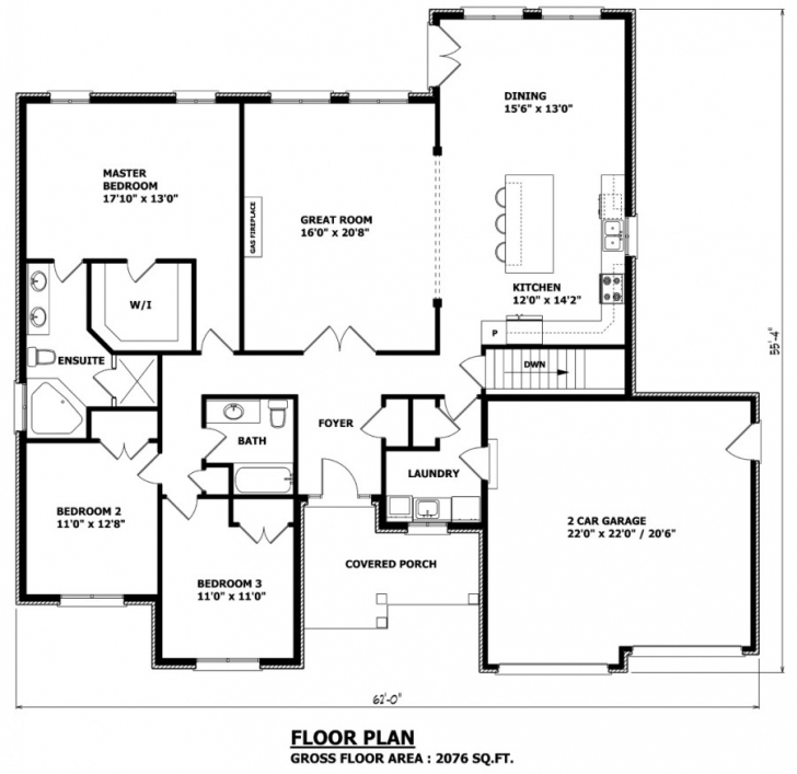 Must See House Plans Canada - Stock Custom Cottage Floor Plans Ontario Picture