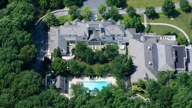 Must See Hundreds Tour Cal Ripken's Reisterstown Estate Weeks Before Auction Kevin Plank House Picture