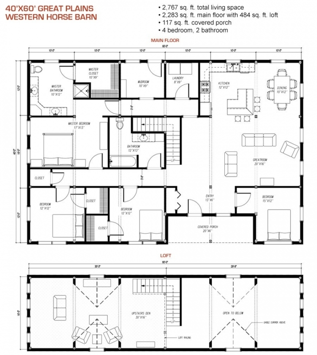 Must See Shop With Living Quarters Floor Plans Elegant Metal Barn House Floor Horse Barn With Apartment Floor Plans Picture