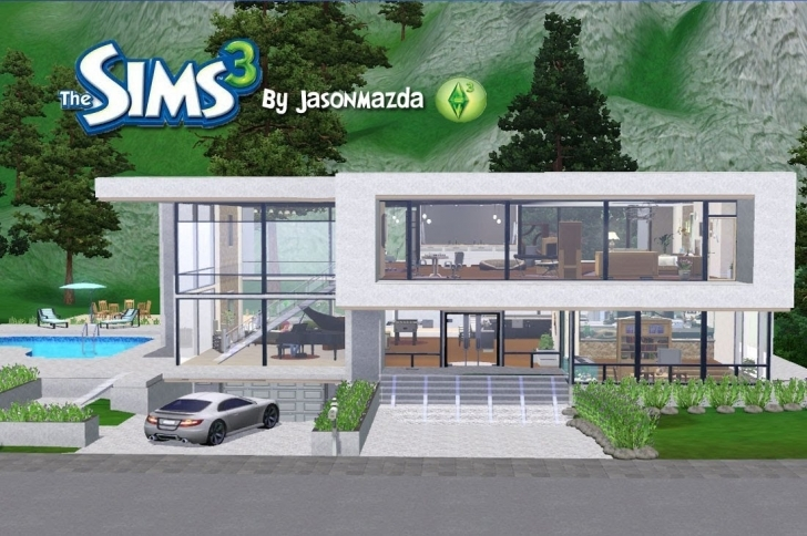 Must See The Sims 3 House Designs - Modern Unity - Youtube Sims 3 House Plans Image