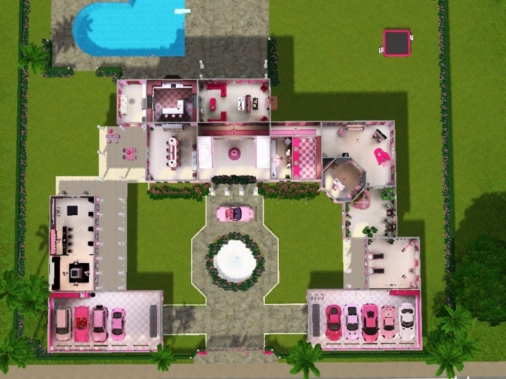 Outstanding Barbie Dream House Floor Plan Unique Fascinating Barbie Dream House Barbie Dream House Floor Plan Photo