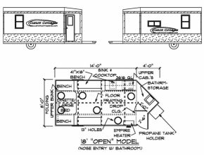 Outstanding Custom Cottages Inc. - Mobile Shelter Design For Ice Fishing Ice Fishing House Plans Pic