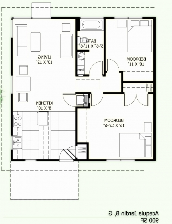 Outstanding Genial 1000 Sq Ft House Plans 3 Bedroom Along With Chennai House 1000 Sq Ft House Plans 2 Bedroom Indian Style Pic