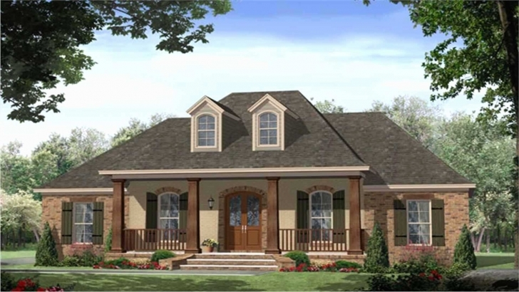 Outstanding House Plans Farmhouse One Story Unique E Story French Country House French Country House Plans Pic