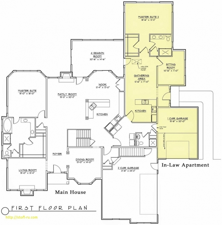 Outstanding House Plans With Inlaw Suite Unique Florida House Plans With Inlaw House Plans With Inlaw Suite Photo