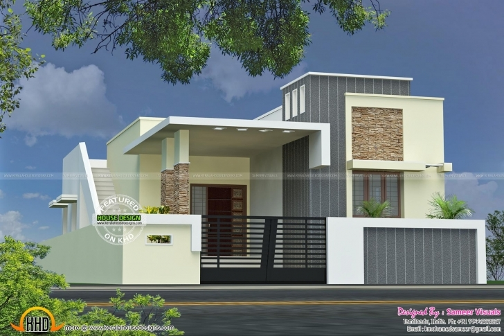 Picture of 56859+ Single Floor House With Plan Kerala Home Design And Floor Single Floor House Plans In Tamilnadu Photo