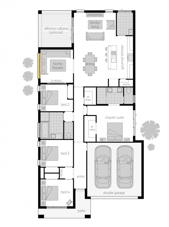 Picture of Brighton - Floorplans | Mcdonald Jones Homes Brighton Floor Plans Image