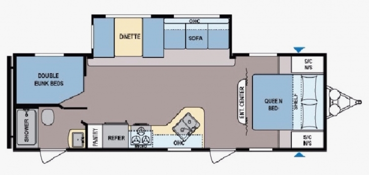 Picture of Coleman Travel Trailers Floor Plans Inspirational New 2017 Coleman Coleman Travel Trailers Floor Plans Image