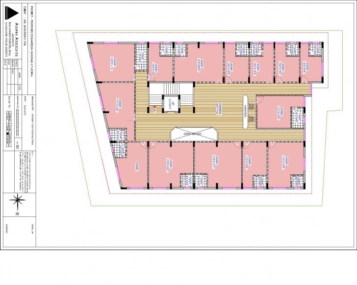 Picture of Commercial Complex For Sale/rent, Radha Commercial Complex, Uchila Commercial Complex Floor Plan Pic