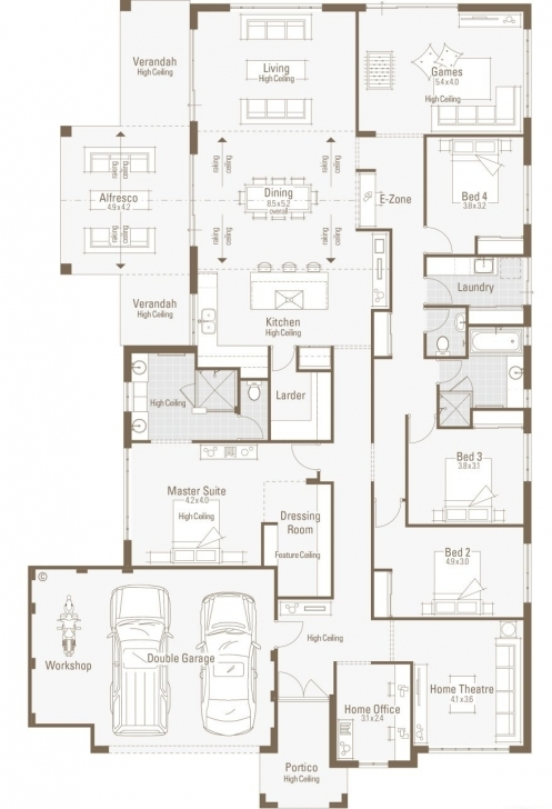 Picture of Exceptional Large Home Plans #5 Floor Home House Plans, Large Large Modular Home Floor Plans Image
