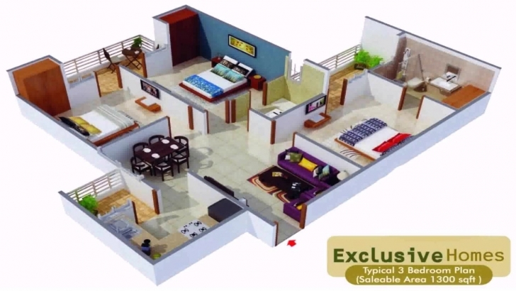 Picture of House Plans In 1000 Sq Ft Indian Style - Youtube 1000 Sq Ft House Plans Picture