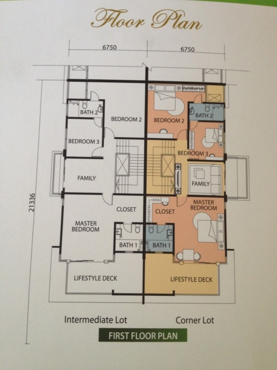 Picture of Jack Phang Investment: Mah Sing Sri Pulai Perdana 2 - Last Phase Cluster House Floor Plan Picture