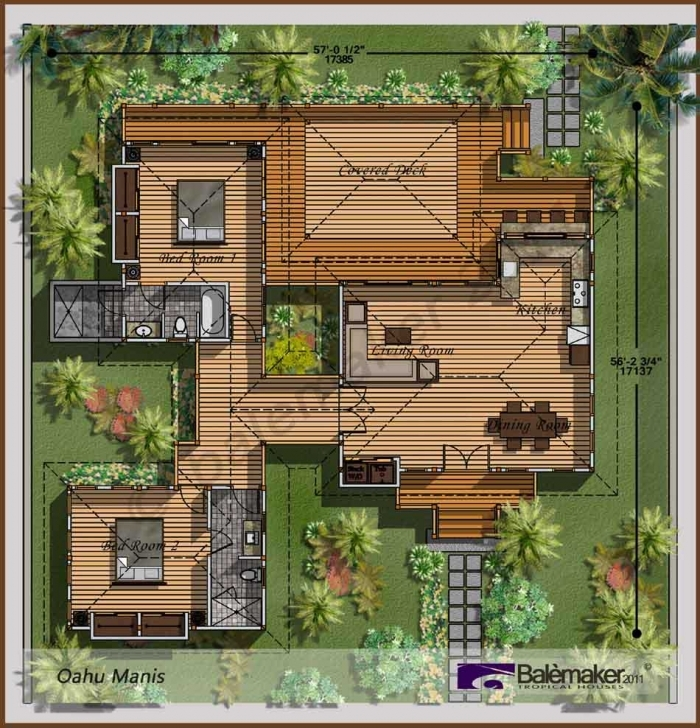 Picture of Magnificent 20 Tropical House Plans Inspiration Design Of, Tropical Tropical Floor Plans Picture