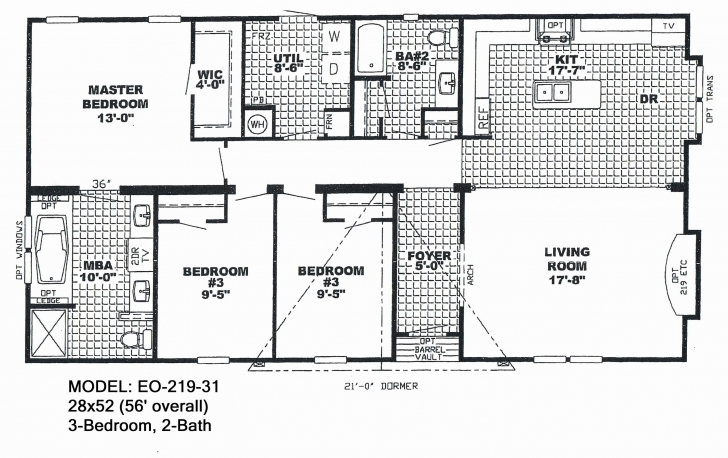 Picture of Mobile Homes Floor Plans Double Wide | Girlwich Double Wide Homes Floor Plans Photo