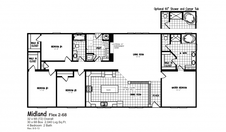 Picture of Single Wide Mobile Home Floor Plans 2 Bedroom Unique 5 Bedroom Single Wide Mobile Homes Floor Plans Pic