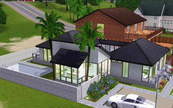 Picture of The Sims 3: Room Build Ideas And Examples The Sims 3 House Plans Photo