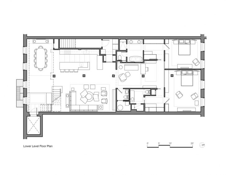 Picture of Warehouse Loft Floor Plans Awesome Gallery Tribeca Loft Andrew Franz Loft Floor Plans Image