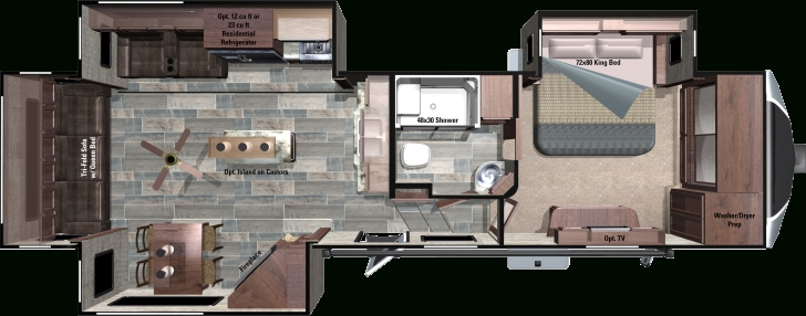 Popular 2017 Open Range 3X Fifth Wheels By Highland Ridge Rv Fifth Wheel Rv Floor Plans Image