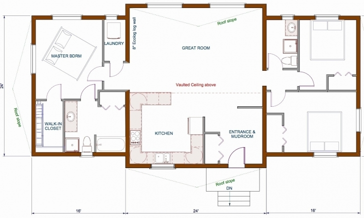 Popular 23 Lovely Open Concept Ranch House Plans | Beadsshop-Tune Open Concept House Plans Photo