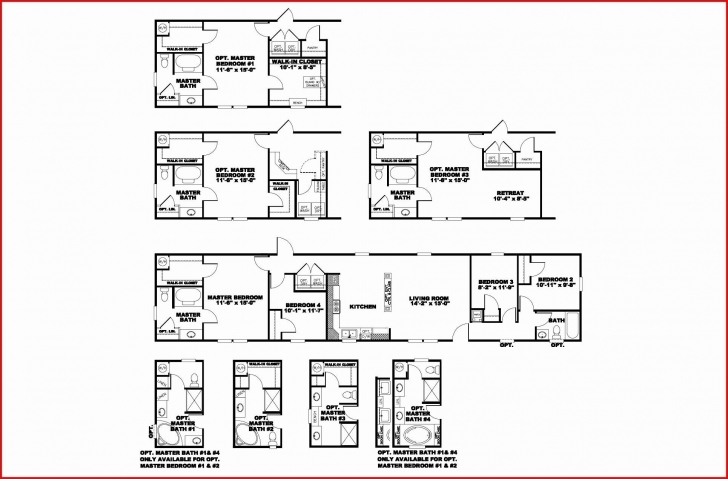Popular 3 Bedroom Single Wide Mobile Home Floor Plans Elegant 25 Awesome Single Wide Mobile Home Floor Plans Photo