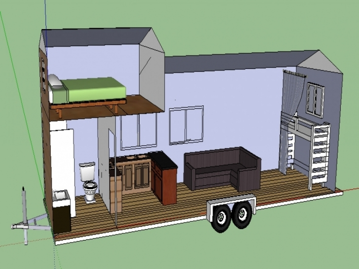 Popular Free Contemporary House Plans Elegant Tiny House Trailer Plans Free Tiny House Trailer Plans Image