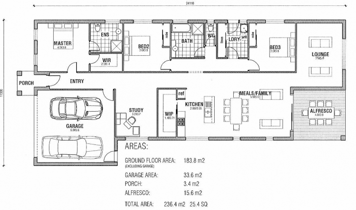 Popular House Plans | House Floor Plans | Australian House Plans | Modern Australian Home Plans Floor Plans Image