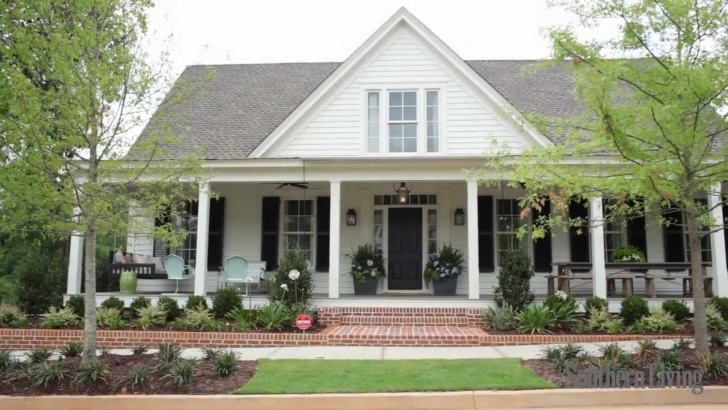 Popular Southern Living's 2012 Farmhouse Renovation: Sneak Peek - Youtube Southern Living House Plans Pic