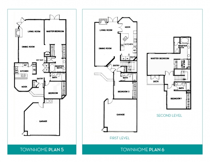 Popular Townhome | Floorplans Townhome Floor Plans Pic
