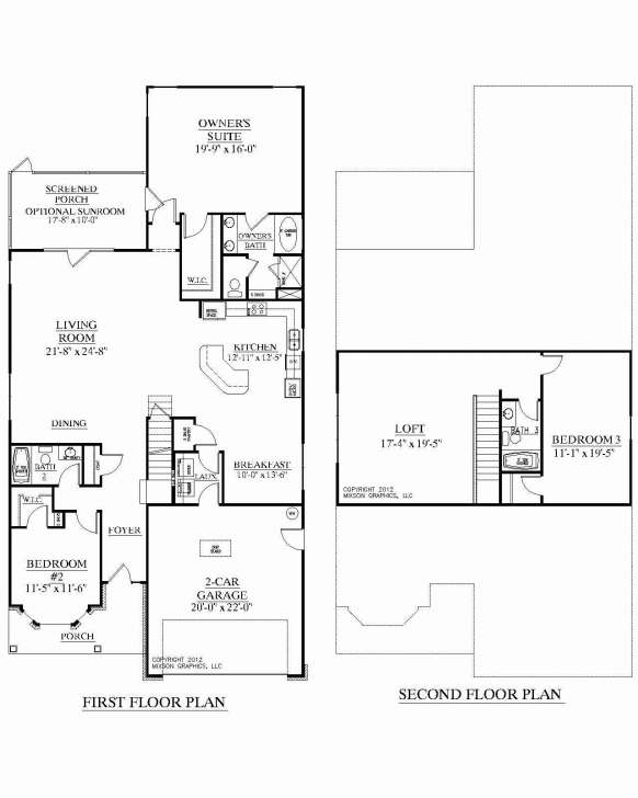 Remarkable 1 1 2 Story House Plans With Two Story Home Plans With Open Floor 1 1 2 Story House Plans Photo