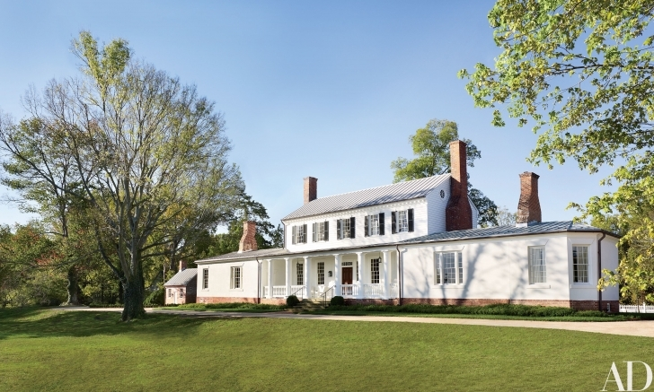 Remarkable Amelia Handegan Restores The 18Th-Century Rose Hill Estate In Rose Hill Plantation House Picture