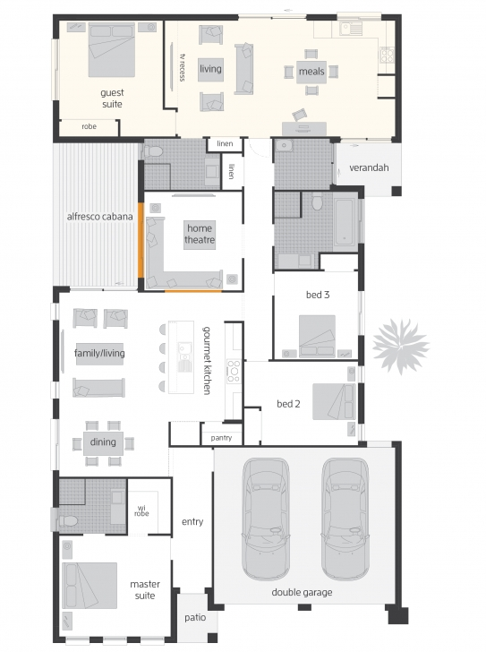 Remarkable Duo - Dual Living - Floorplans | Mcdonald Jones Homes Dual Living Floor Plans Picture