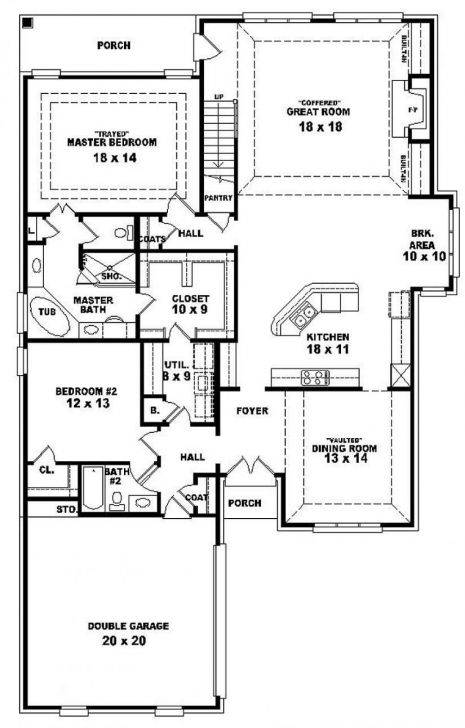 Remarkable One And A Half Story House Plans Canada With Walkout Basement One And A Half Story House Plans Picture