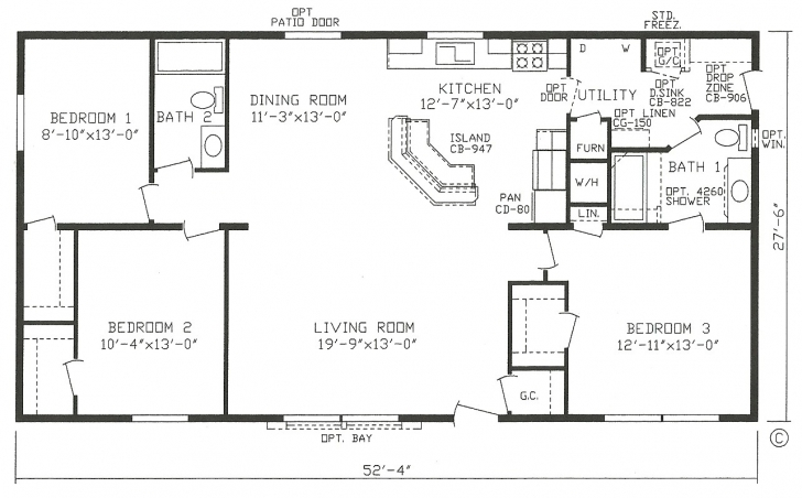 Remarkable Open Floor Plan Modular Homes Luxury 3 Level Split Floor Plans Split Modular Home Open Floor Plans Picture