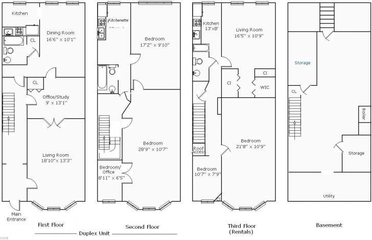 Remarkable Rowhouse Floor Plans Find House Plans, Old Row House Floor Plan - Zeens Row House Floor Plans Photo