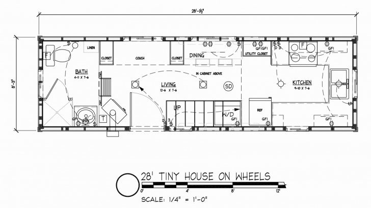 Remarkable Tiny Houses On Wheels Floor Plans Inspirational Small Mobile Home Tiny House On Wheels Floor Plans Photo